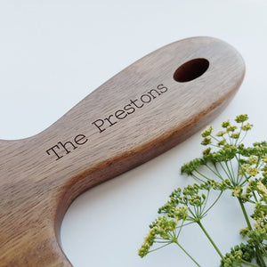 Personalised Large Planku Australian Hardwood Serving Board