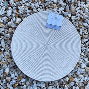 Round Cotton Rope Table Mat