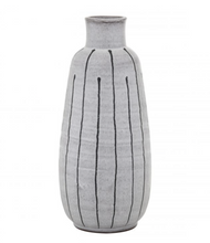 Load image into Gallery viewer, Ceramic Vase | Grey + Black