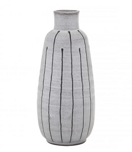 Ceramic Vase | Grey + Black