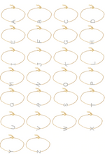 Load image into Gallery viewer, Diamond Initial Bracelet