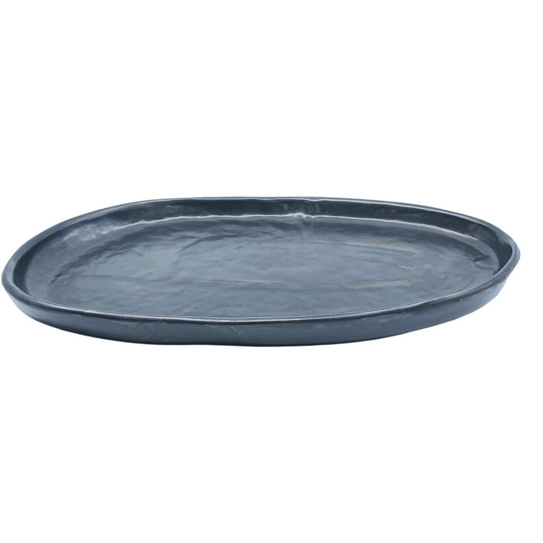 Batch# Bowl 'Oval Platter' Sm Ink