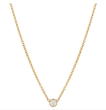 Load image into Gallery viewer, Bezel Diamond Necklace - Small