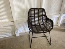 Load image into Gallery viewer, Iron Rustic Dining Chair