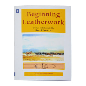 Book, Ron Edwards, Beginning Leatherwork