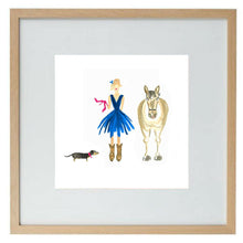 Load image into Gallery viewer, A Girl's Best Friends - limited edition print