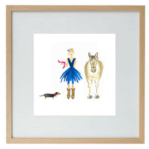 A Girl's Best Friends - limited edition print