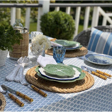 Load image into Gallery viewer, Hamptons Blue - Tablecloth