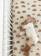 Load image into Gallery viewer, Kiin Jersey Cot Sheets Rainbow