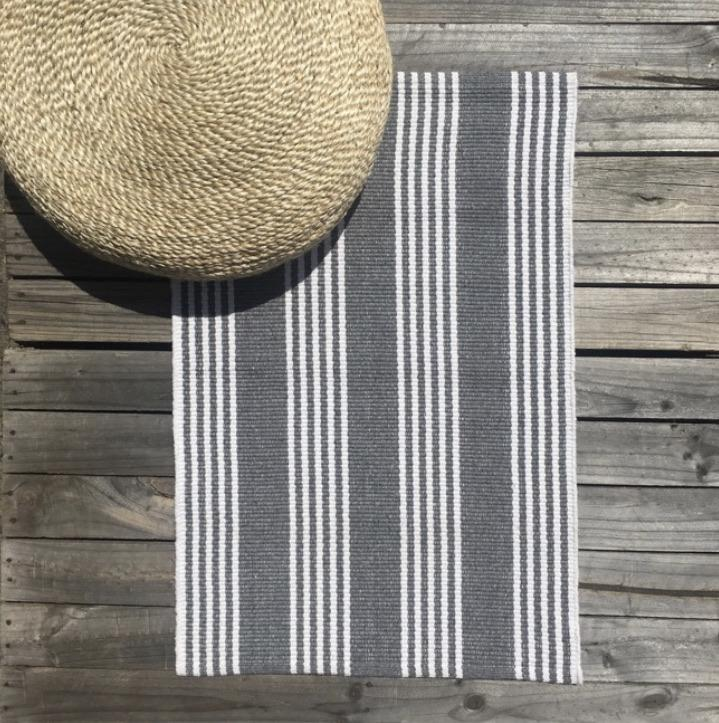 Recycled Cotton Mat - Durban Grey