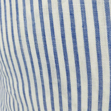 Load image into Gallery viewer, Striped Blue & White Cushion