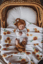 Load image into Gallery viewer, Snuggle Hunny Kids Organic Muslin Wrap - Sunflower