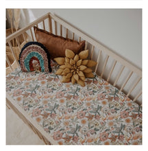 Load image into Gallery viewer, Snuggle Hunny Jersey Cot Sheets - Australiana