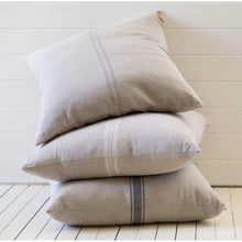 Load image into Gallery viewer, Bien Cushion with White Grainsack Stripe