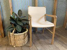 Load image into Gallery viewer, Keir Leather relaxed dining chair