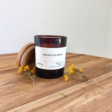 Little Modern Amber Candle