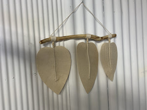 Macrame Leaf Wall Hanging