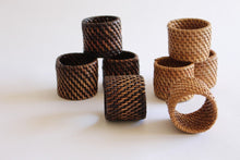 Load image into Gallery viewer, Rattan napkin rings