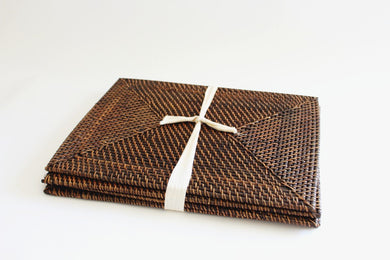 Rattan Place Mats (Rectangular)