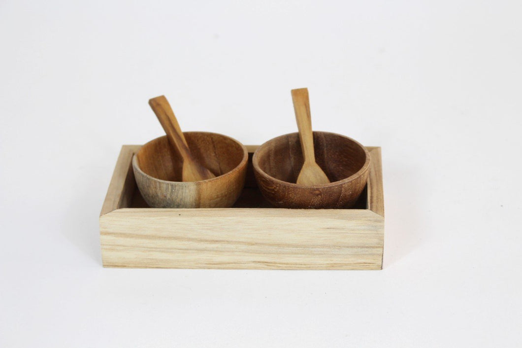 5 Piece Condiment Set
