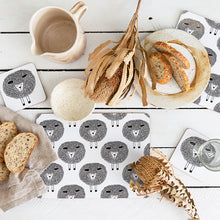 Load image into Gallery viewer, Snoozy Sheep Coasters Set of 4 | Black & White