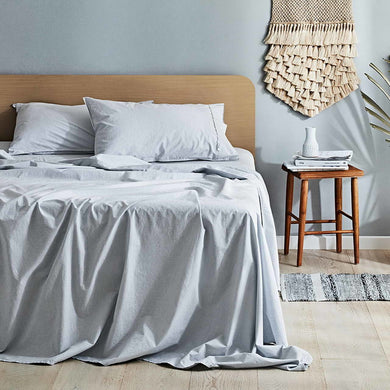 Canningvale Vintage Softwash Sheet Set - SKB