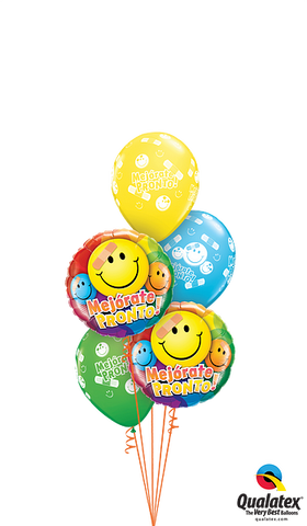 - Get Well Soon Smileys Ballonboeket