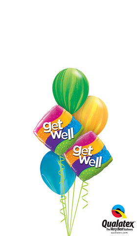 - Get Well Rainbow Ballonboeket