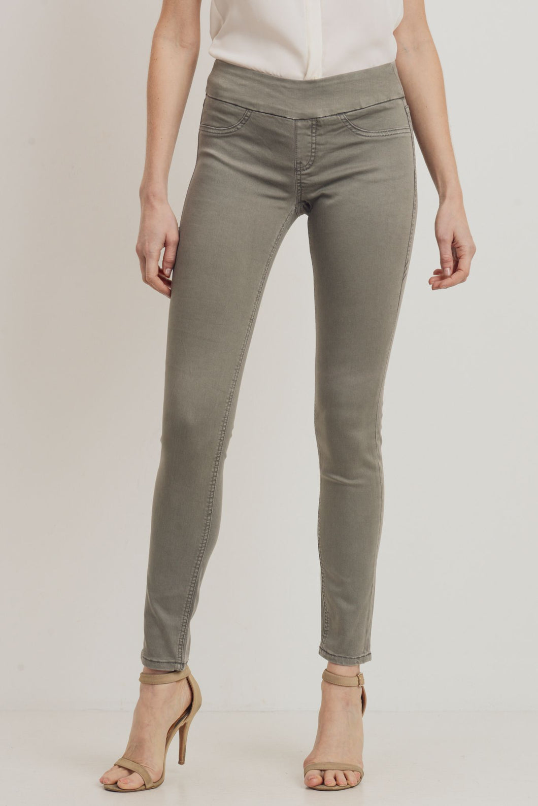 Penelope Pull-on – Charcoal Grey