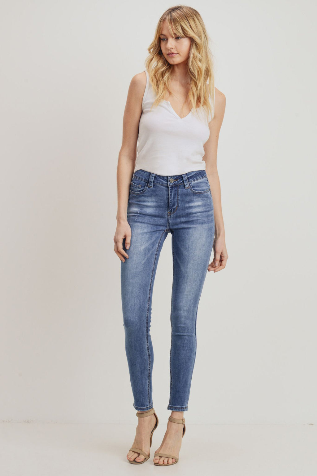 Sustainable Skinny – Light Blue