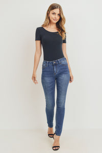 Sustainable Skinny – Med Blue