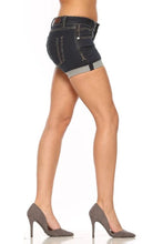 Load image into Gallery viewer, Sarina Shorts 6″ – Blueblack