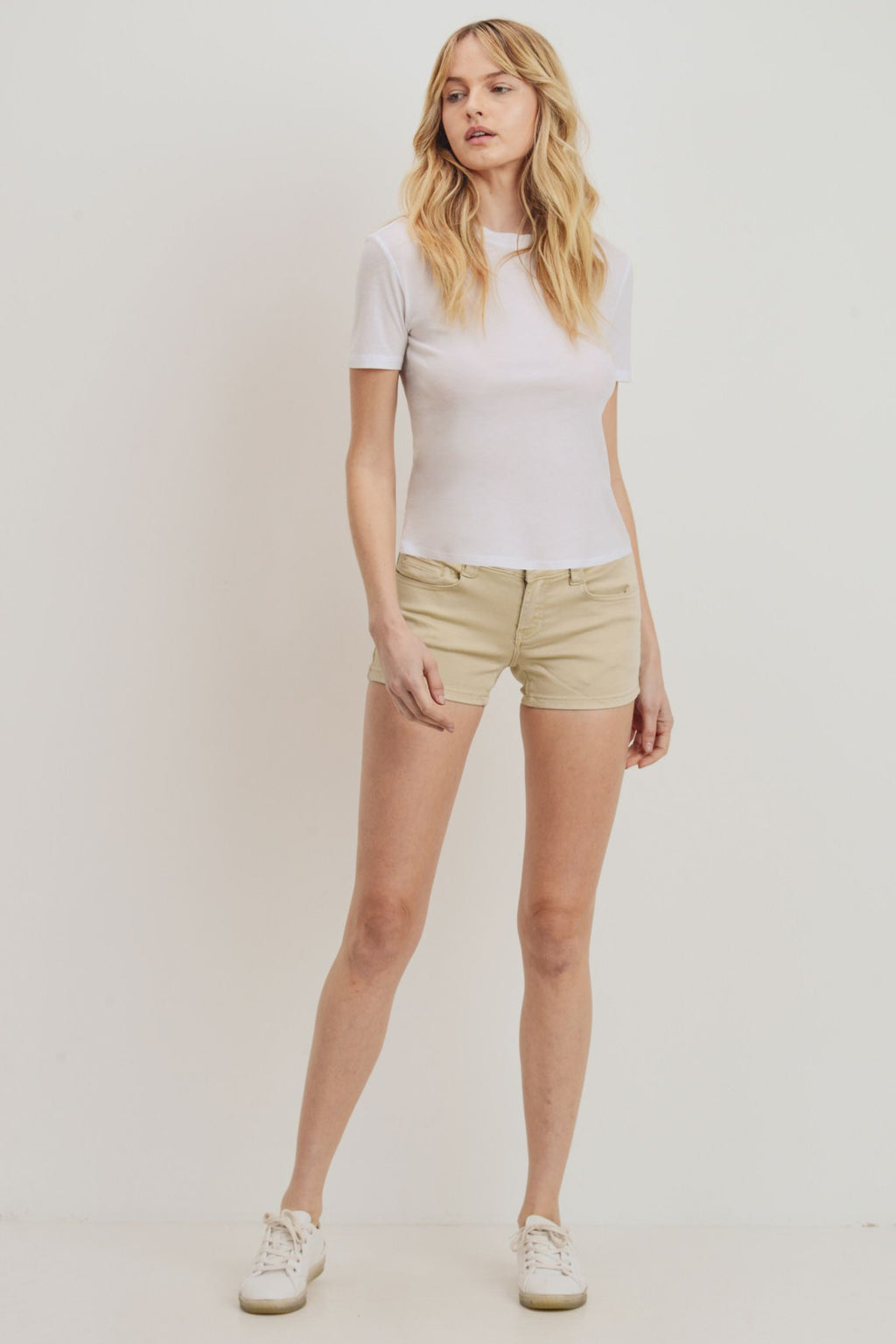 Cami Shorts – Sand Shell