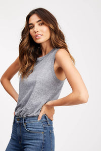 The Tilson Tank - Heather Grey