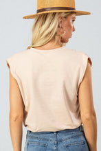 Load image into Gallery viewer, Crew neck Sleeveless Bodysuit