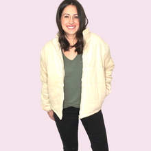 Load image into Gallery viewer, Cream Corduroy Jacket
