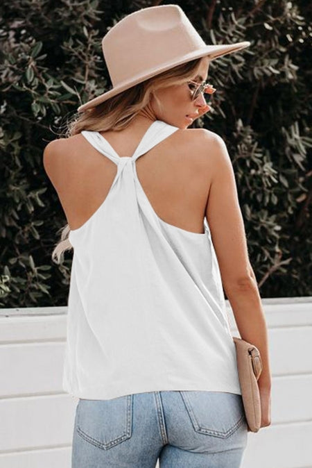 White Back And Better Tank - Bigdealfashions