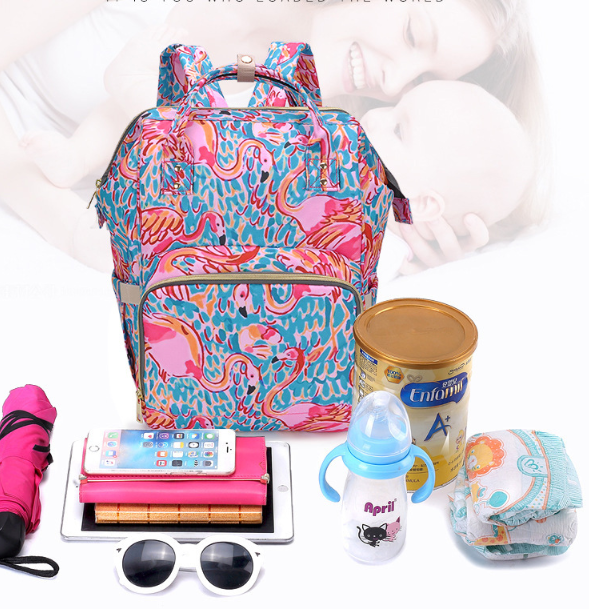 Inspired Lilly Pulitzer diaper bag