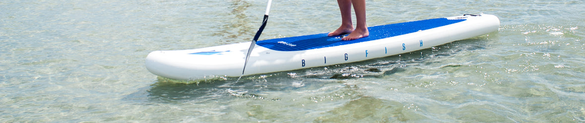 BIGFISH inflatable stand up paddleboards come with a 30 money back guarantee.