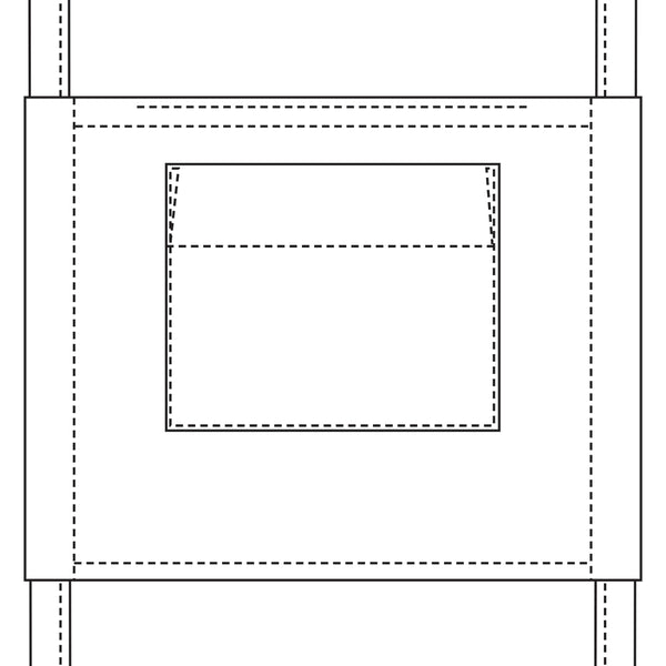 Face mask template