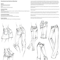 "Practice Pack for ""Fashion Illustration Tutorial: Denim Done 8 Different Ways"" Video"