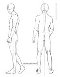 Male FASHION FIGURE TEMPLATES