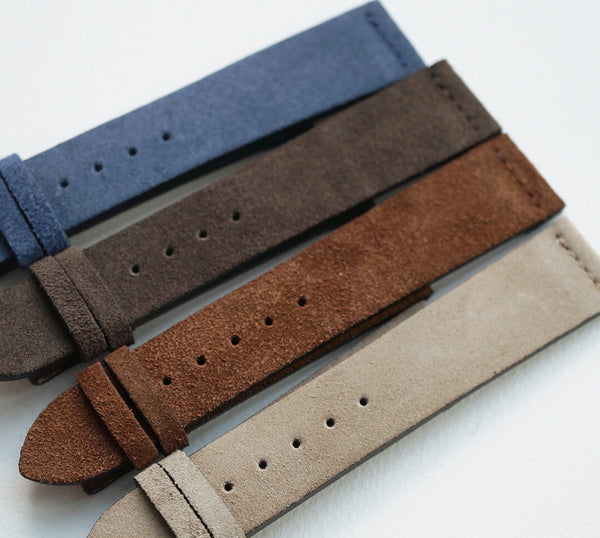 Suede Strap - Straight Stitch