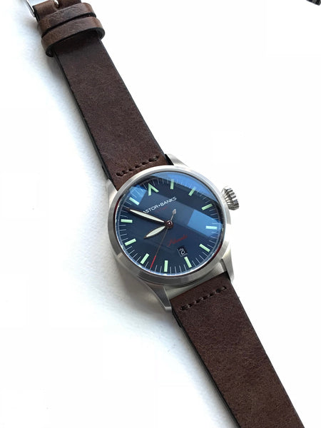 Vintage Style Leather Strap