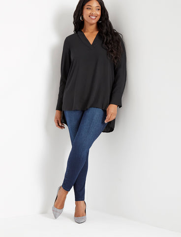 Classic Fit Olivia Sculpting Skinny Jean in Dark Wash