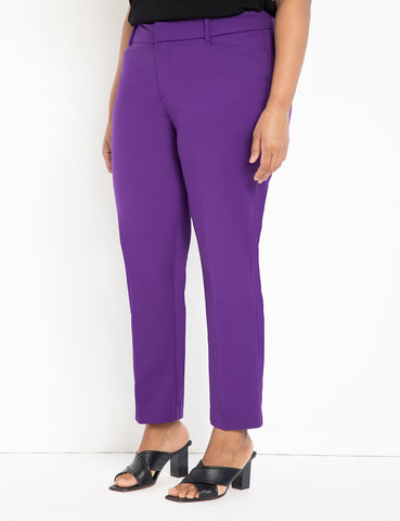 Regular Fit Kady Pant in Bloom Berry
