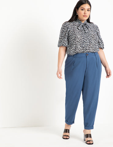 Relaxed Peg Pant In Sky Captain