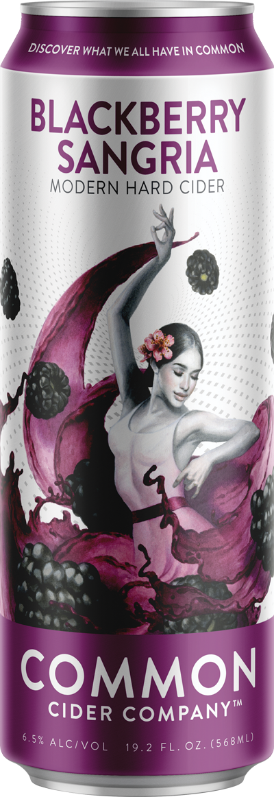 Blackberry Sangria 19.2oz Can (includes CRV)