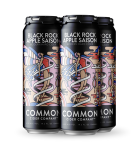 Black Rock Apple 4pk  19.2oz Cans (includes CRV)
