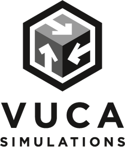 Vuca simulations cosim logo for conflict simulations